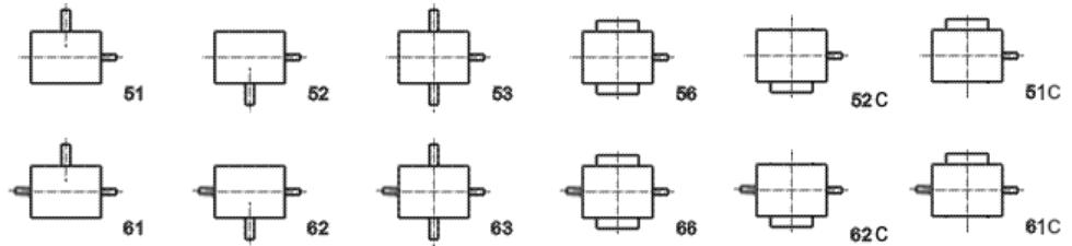 Схемы сборки редуктора 1Ч-63